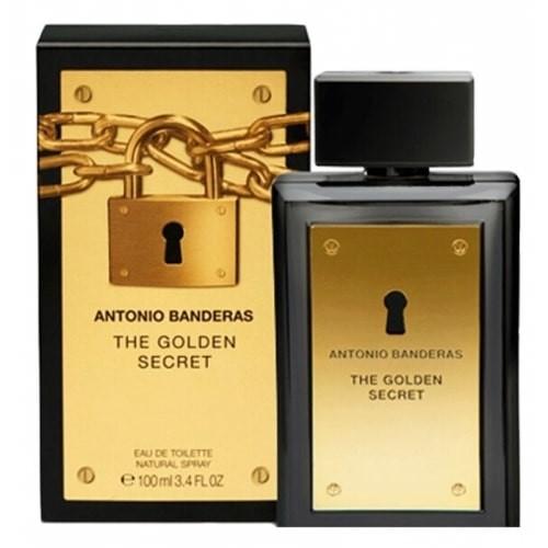 Мужская туалетная вода antonio banderas the golden secret 100 ml фото №1