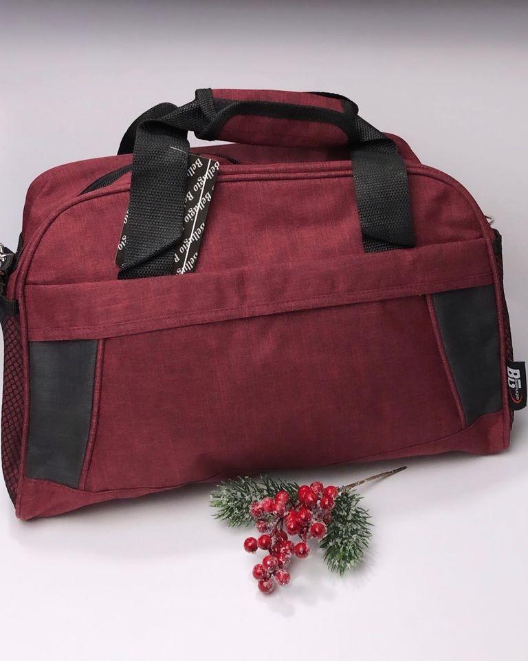 Спортивная сумка красная фото №1