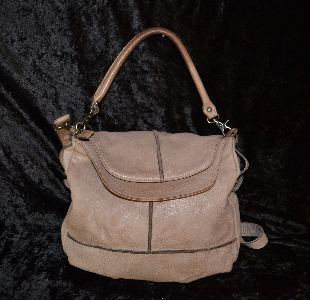 Кожаная сумка fred s bruder фото №1