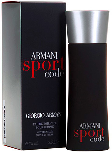 Мужская туалетная вода armani code sport 125 ml фото №1