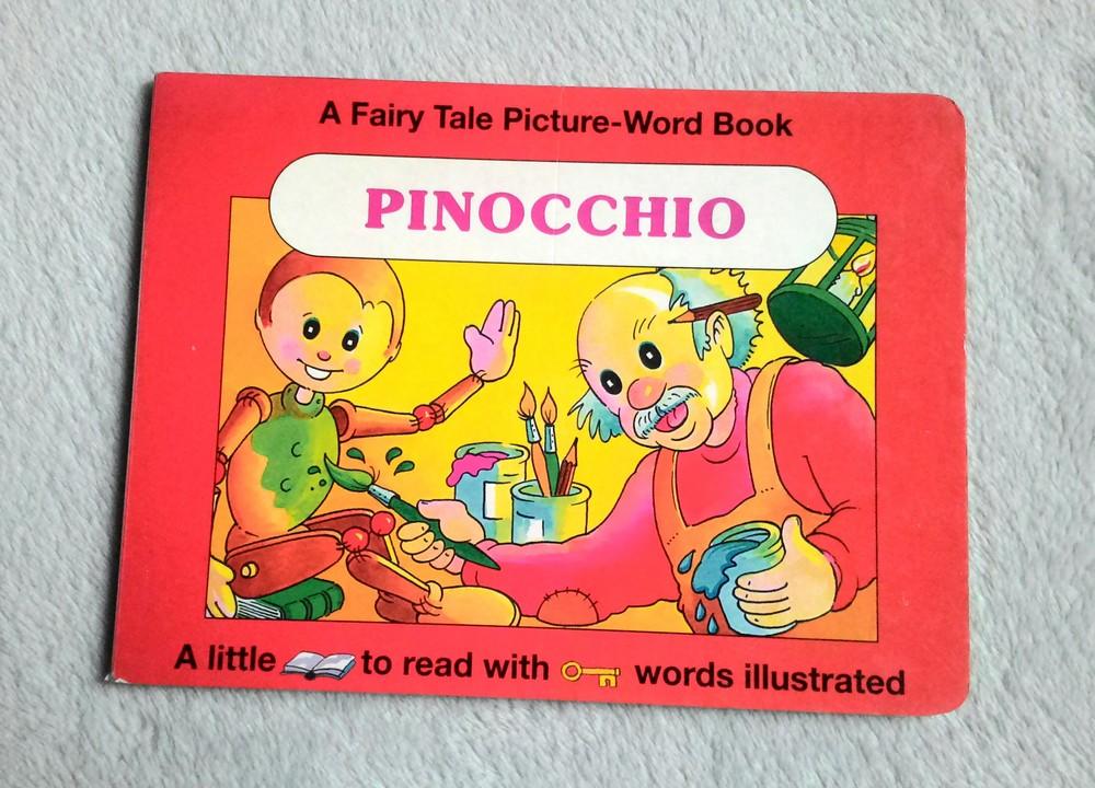 Книга англ. пиноккио. интересная!) фото №1