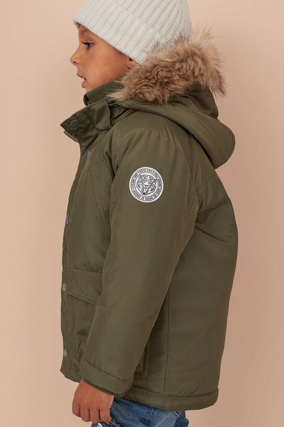Нова стильна куртка парка h&m розм. 3-4 р./104 і 7-8 р./128 в наявності фото №1