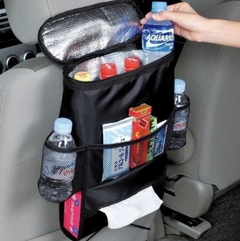 Термосумка организатор в автомобиль на спинку сиденья фото №1