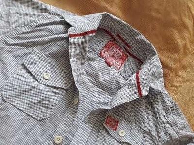 Рубашка фирменная superdry р.48-50 xl фото №1
