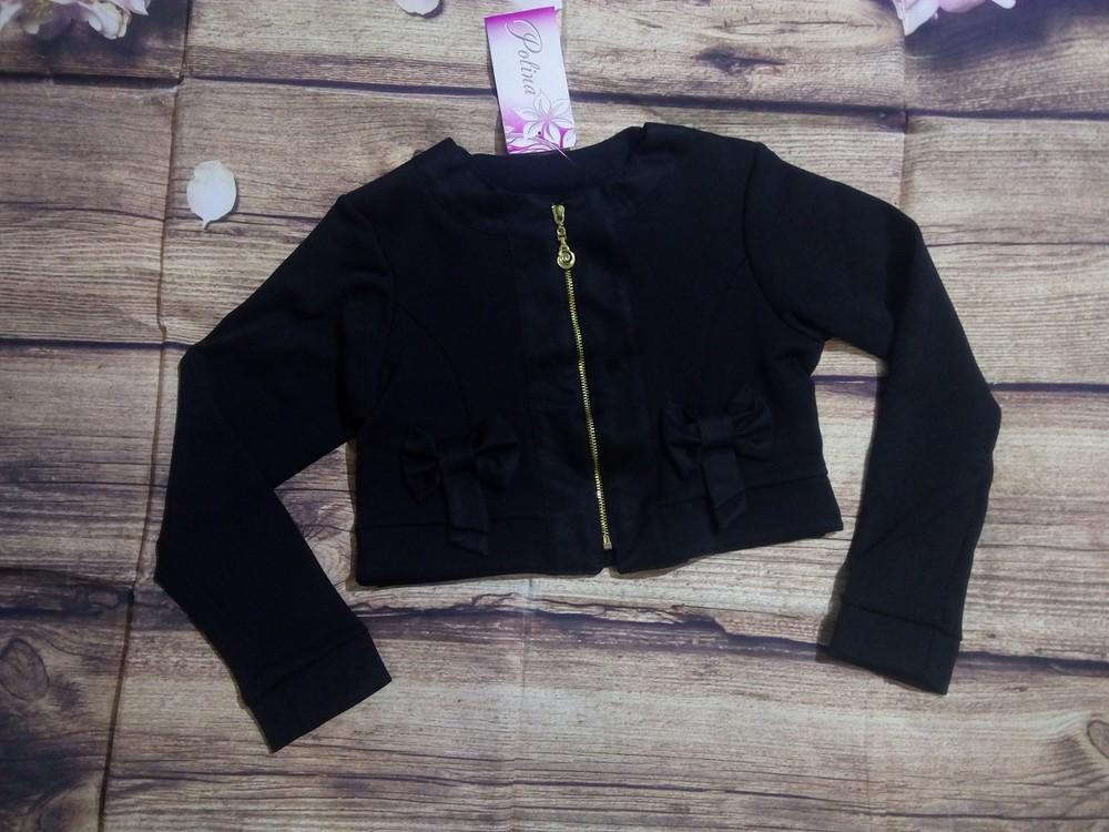 Укороченные пиджаки 128-134-140-146. фото №1