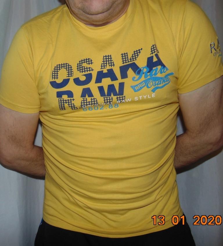Стильная фирменная катоновая футболка бренд raw.м . фото №1