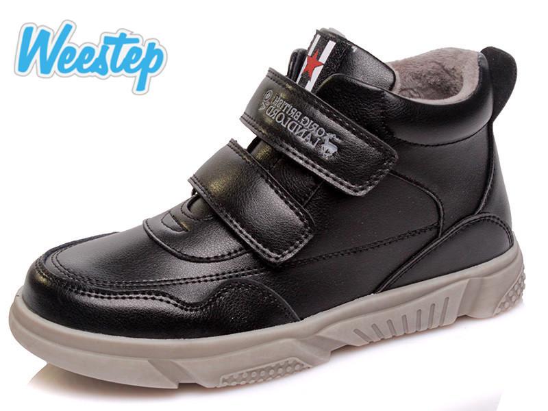 Новинка демисезонные ботинки для мальчиков weestep pp. 32 33 34 35 36 37 фото №1