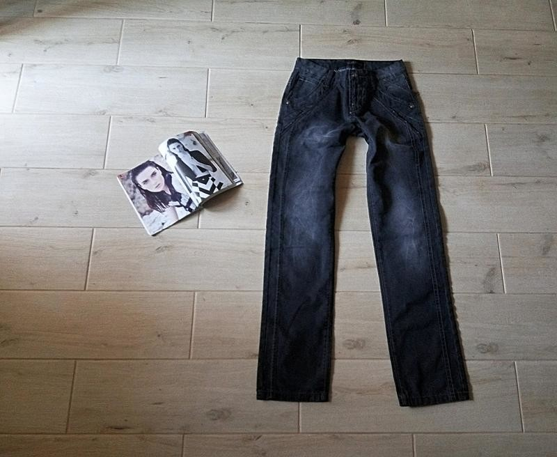 Плотные мужские джинсы прямые р. m 29 фото №1