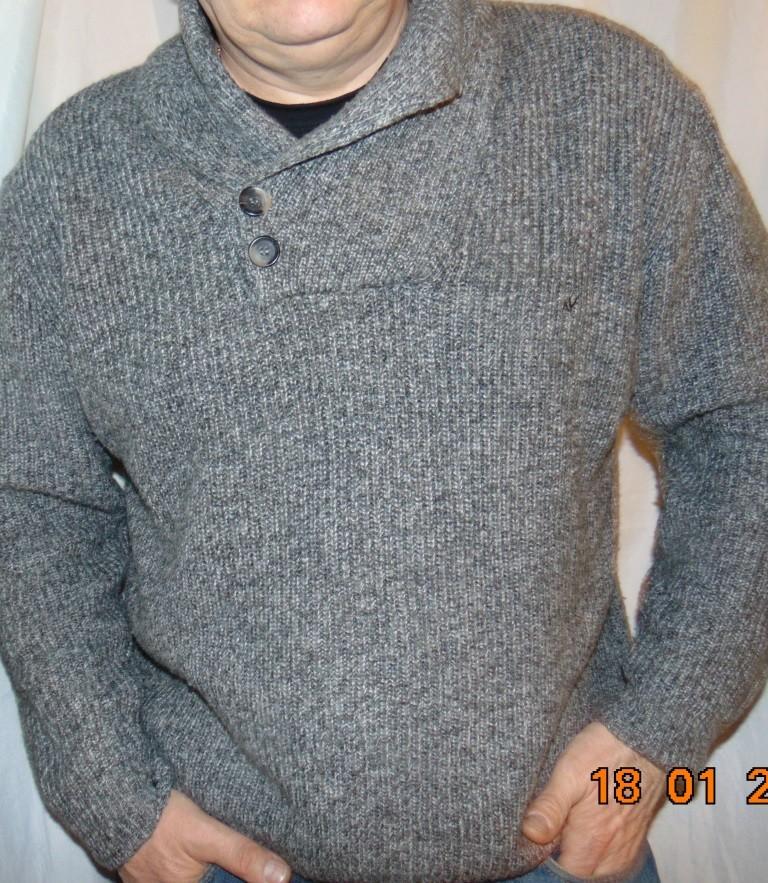 Стильная брендовая фирменная кофта шерсть свитр navigazione. л-хл . фото №1