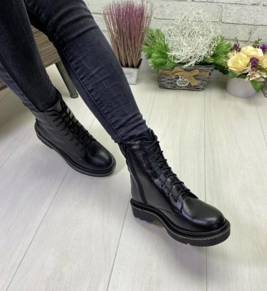 Ботинки женские демисезонные натуральная кожа фото №1