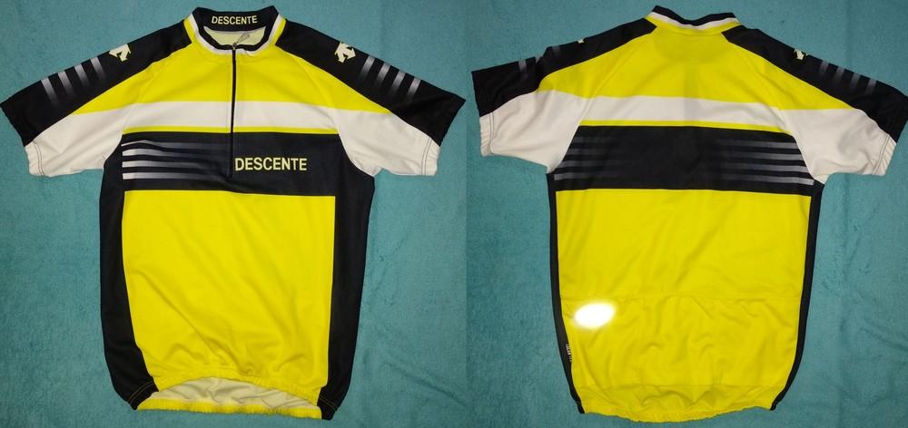 Как новое descente велоджерси футболка спортивная унисекс фото №1