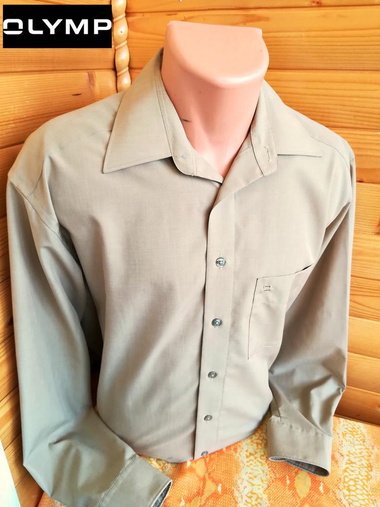 Классическая рубашка от модного немецкого бренда olymp luxor, оригинал. фото №1