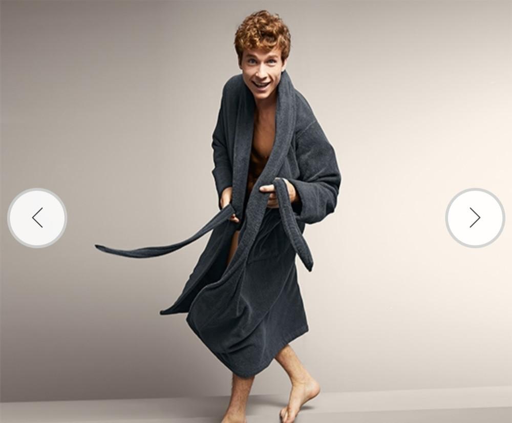 Шикарный, добротный халат от tcm tchibo, германия! раз.xl фото №1