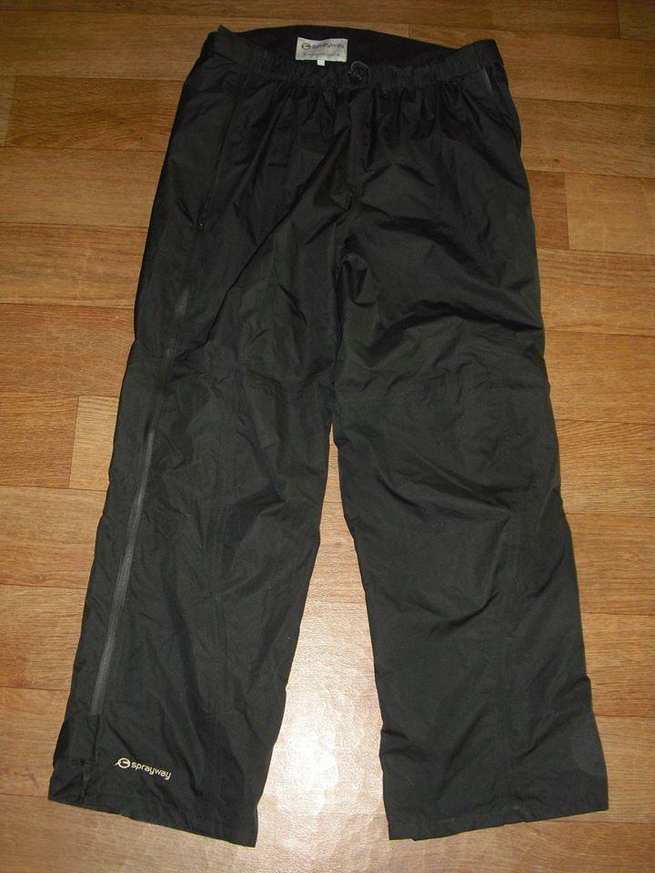Мужские непромокаемые туристические штаны самосбросы sprayway размер л фото №1