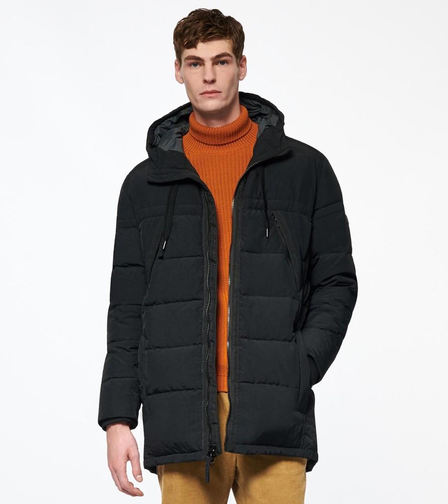 Фирменная куртка парка пуховик andrew marc new york holden down parka фото №1