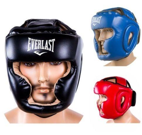 Шлем боксерский everlast для бокса. лев спорт. фото №1