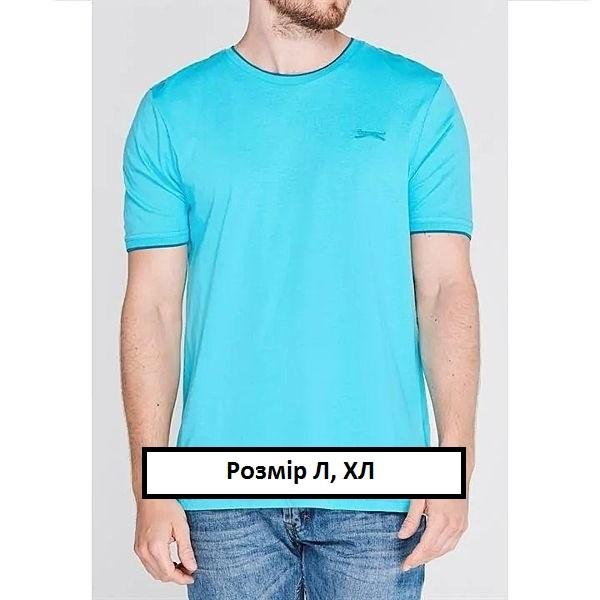 Фирменная мужская футболка слезенгер slazenger originals оригинал фото №1