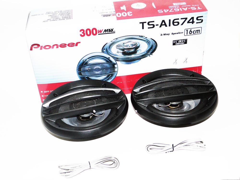 Автоакустика 16 см pioneer ts-a1674s 300w фото №1