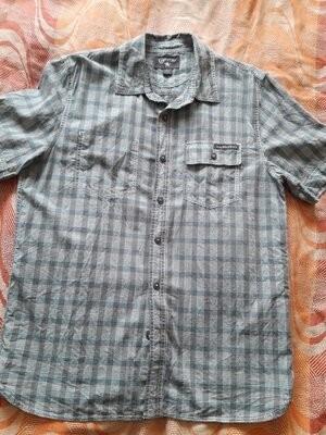 Фирменная мужская лёгкая тениска converse на размер 46 фото №1