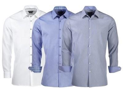 Рубашка мужская деловая nobel league, размер на выбор фото №1