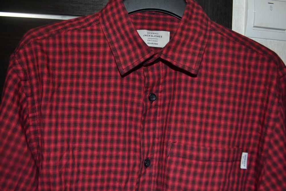 Новая рубашка ф. jack&jones р. s орининал бангладеш фото №1