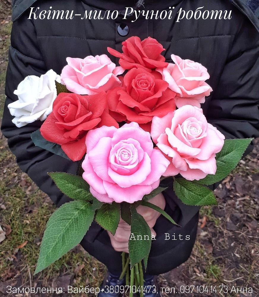 Троянди ручної роботи фото №1