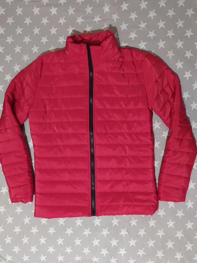 Демисезонная стёганая куртка reverse, мужская женская фото №1