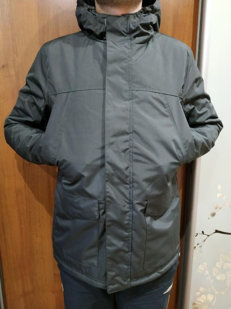 Мужская парка куртка no fear демисезон непромокаемая непродуваемая оригинал фото №1