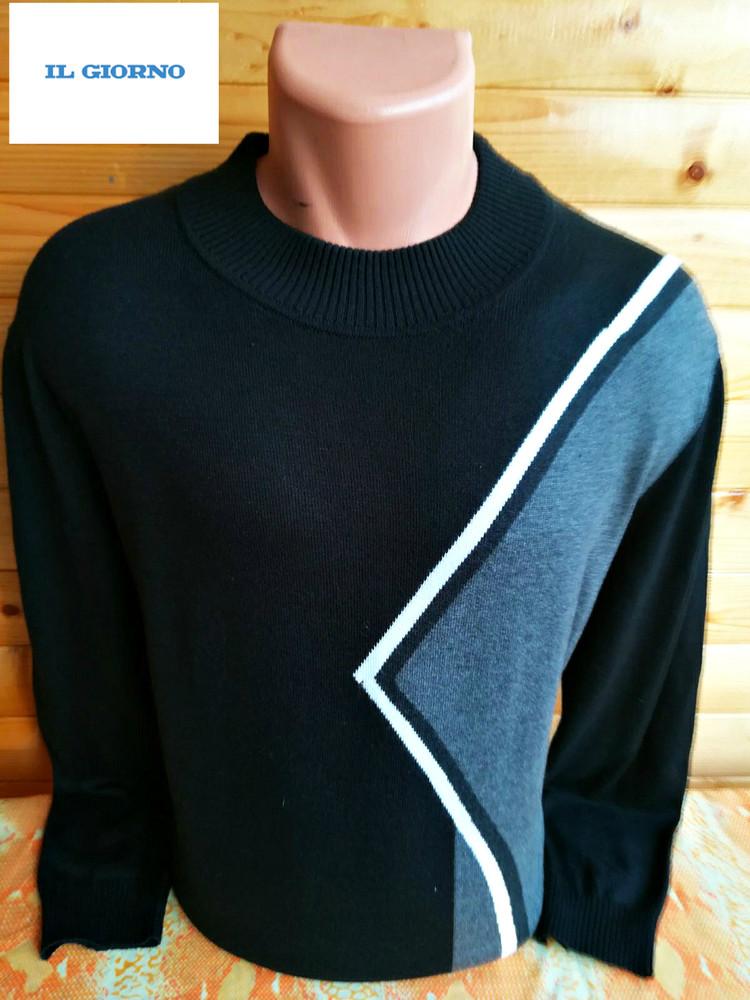 Практичный и комфортный свитер il.giorno из смесовой ткани. фото №1
