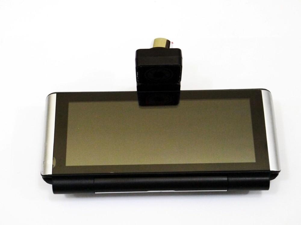 "Dvr k6 видеорегистратор на торпеду - 2 камеры / gps / 7"" ips экран / 4ядра / 8gb / 1gb ram / android фото №1"