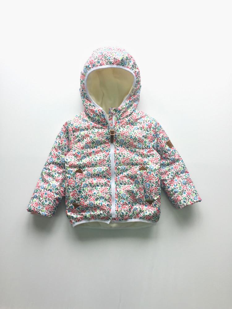 Детская демисезонная куртка для девочки фото №1