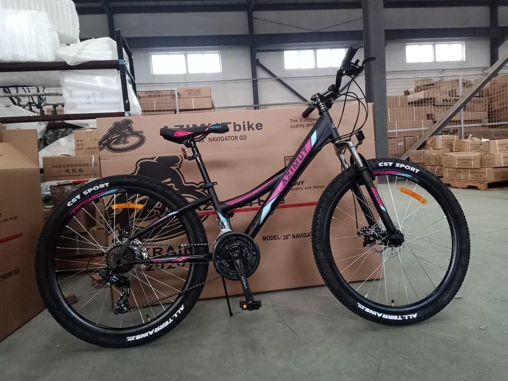 Azimut navigator 26 велосипед двухколесный горный азимут навигатор фото №1