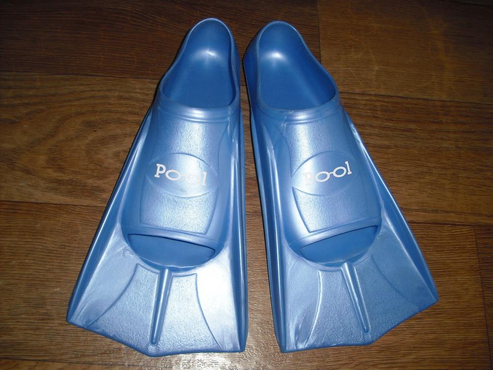 Детские резиновые ласты pool р. 33-34 фото №1