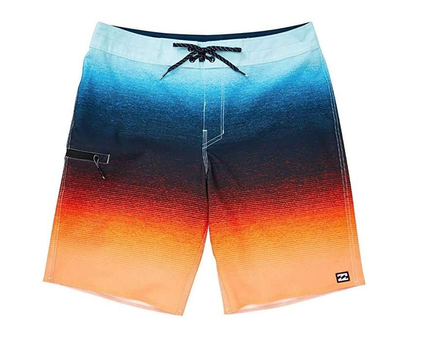 Мужские шорты стрейч сочные яркие billabong men's fluid airlite l original фото №1