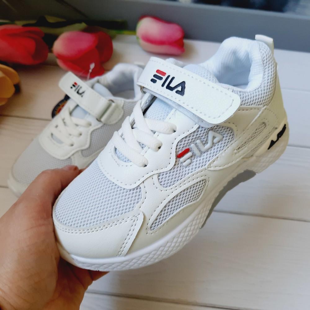 Детские кроссовки белые 28,29,31 размеры фото №1