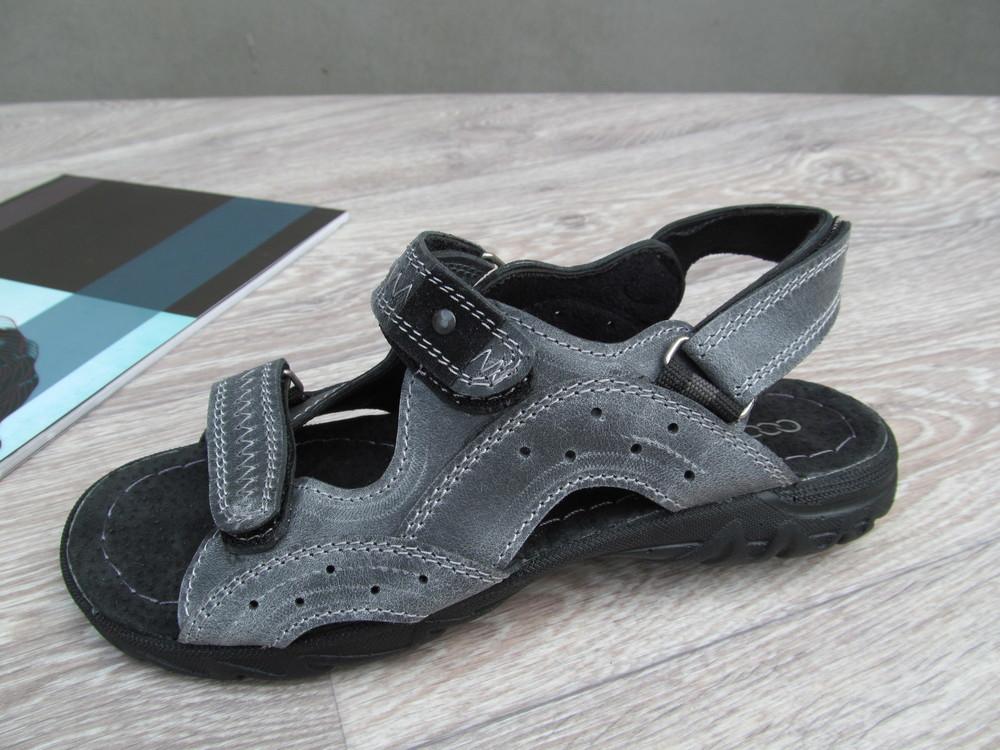 Кожаные сандали для мальчика,подростковые фото №1