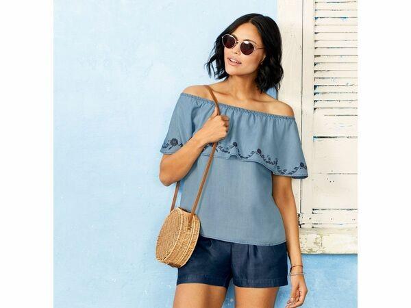 Модная летняя блуза esmara. 42 евро фото №1