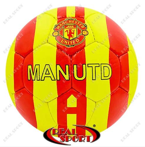 Мяч футбольный manchester fb-0047-3570 5, 5 сл. , сшит вручную фото №1