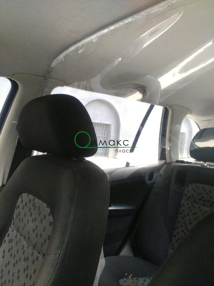 Мягкое стекло пвх для защитной перегородки от вирусов в такси, на кассе, в магазине фото №1