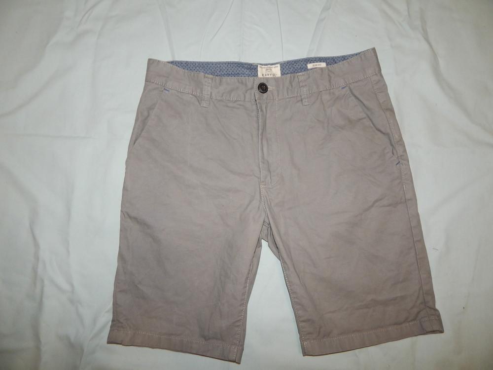 Easy шорты котоновые мужские модные р32 рм slim fit фото №1