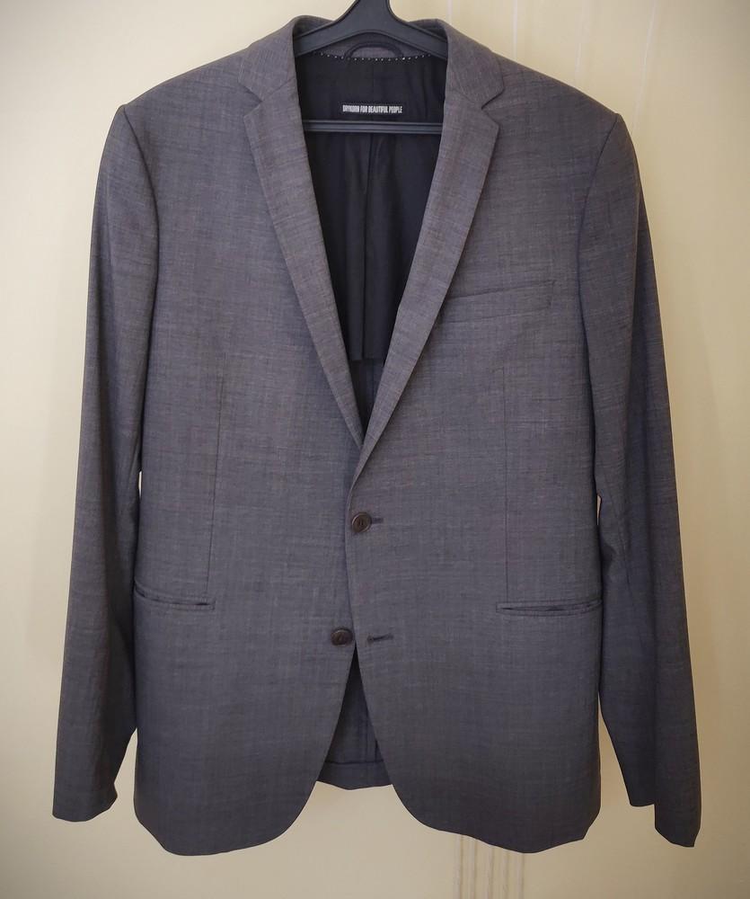 Мужской пиджак зауженного кроя drykorn фото №1