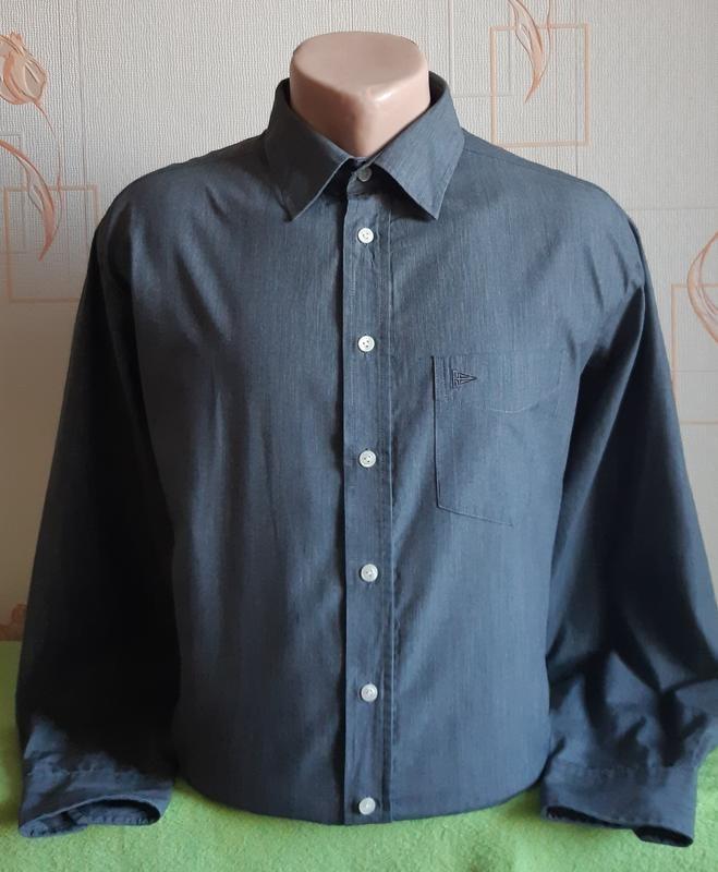 Стильная рубашка в полоску paul smith bügelleicht фото №1