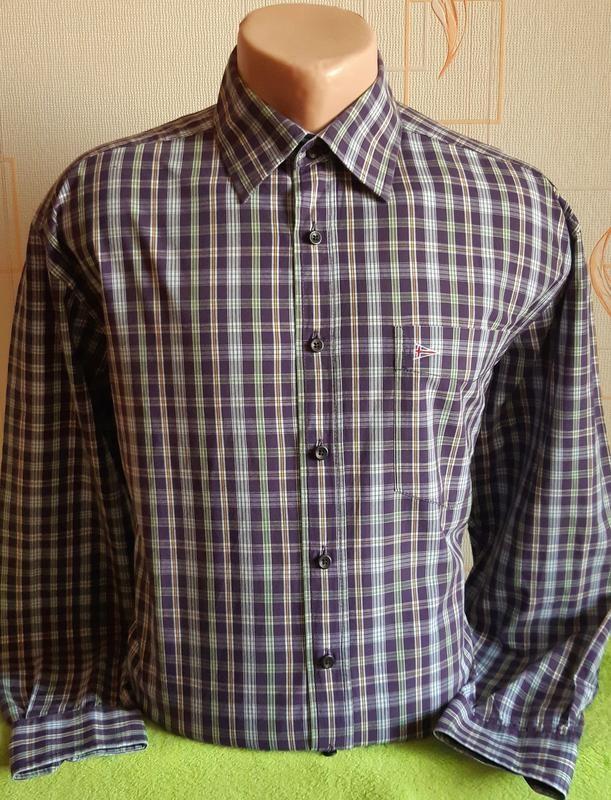 Стильная рубашка в клетку paul smith k&l ruppert, германия фото №1