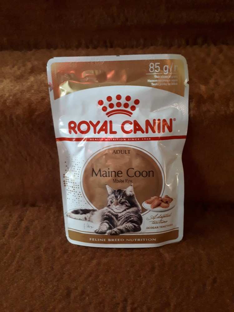 Пауч royal canin maine coon для мейн кунов с 15 месяцев фото №1