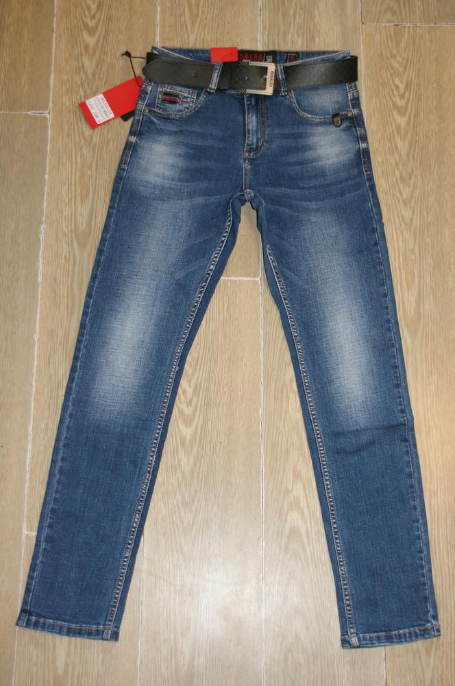 Мужские джинсы resalsa 9688 стрейчевые классика 27-31, рр фото №1