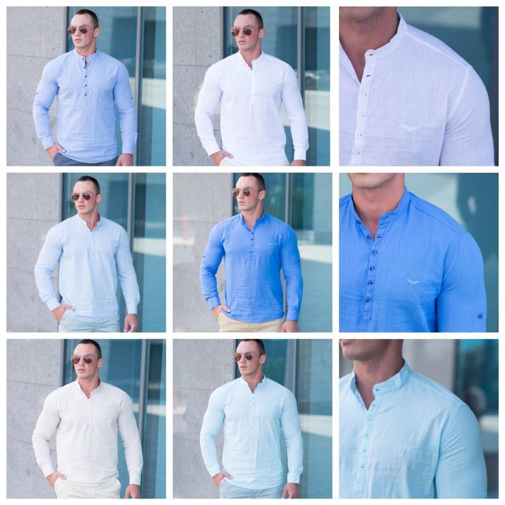 Стильная лёгкая рубашка!!! 6 цветов фото №1