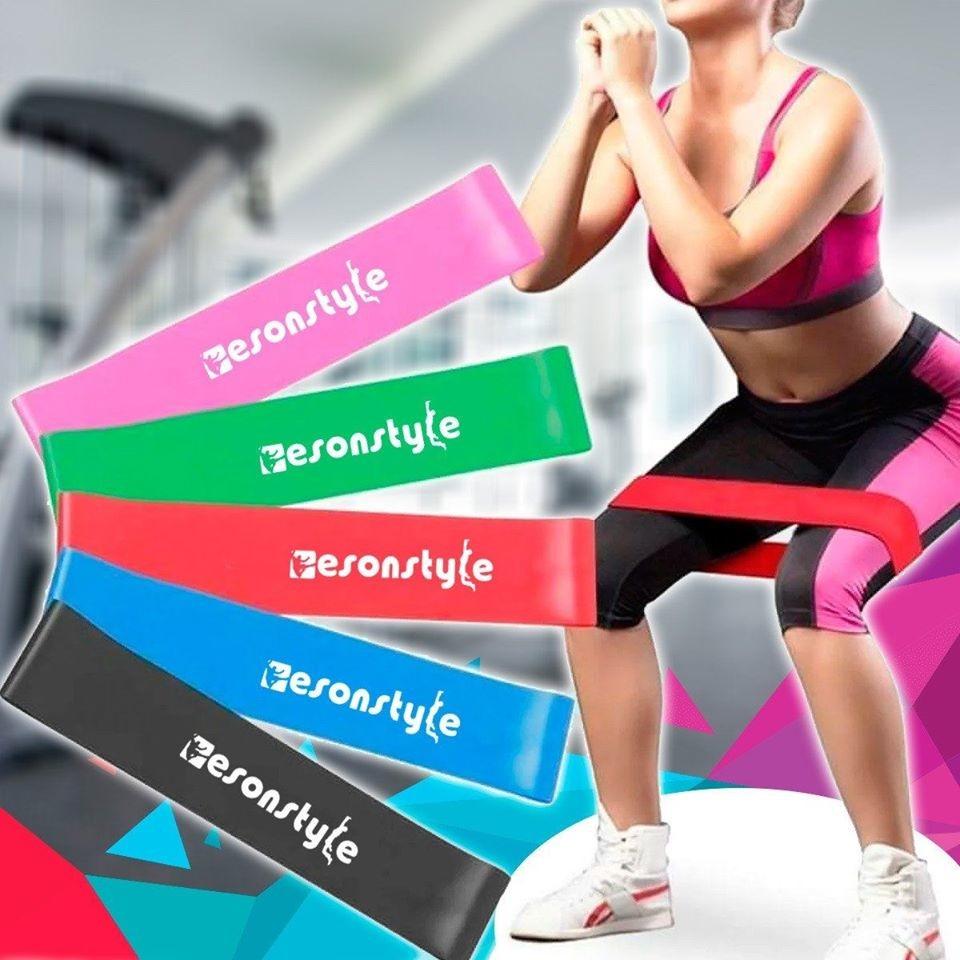 Резинки для фитнеса esonstyle, резинки для спорта, фитнес ленты фото №1
