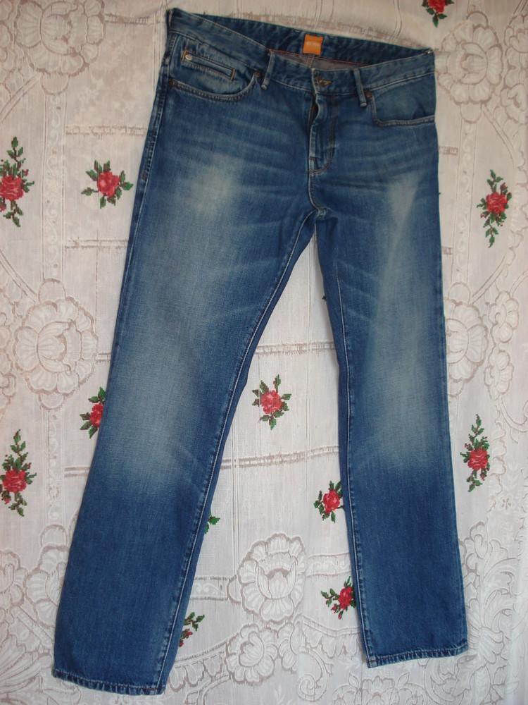 "Супер джинсы""boss""оригинал,р.32-34 фото №1"