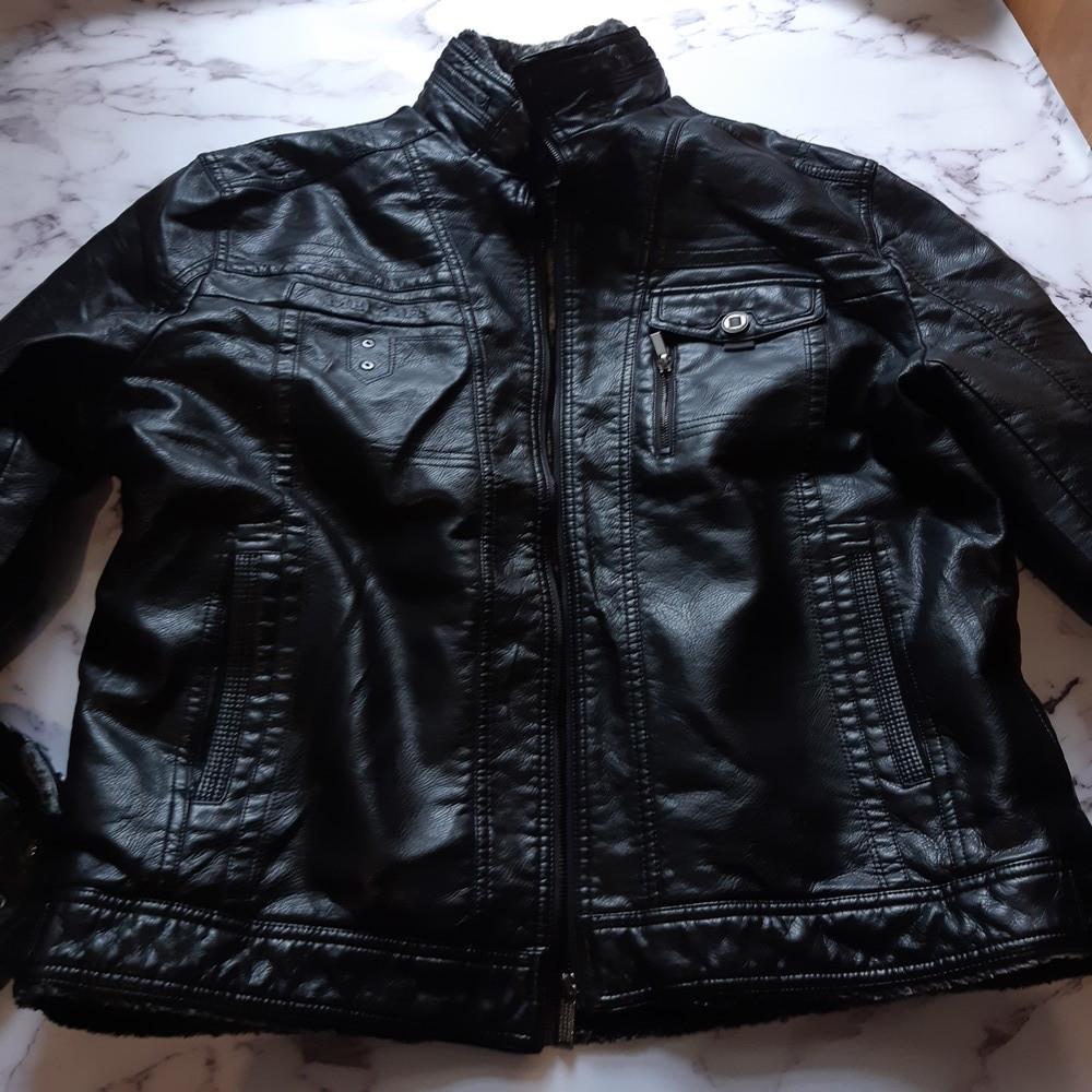 Мужская зимняя куртка, куртка на меху фото №1