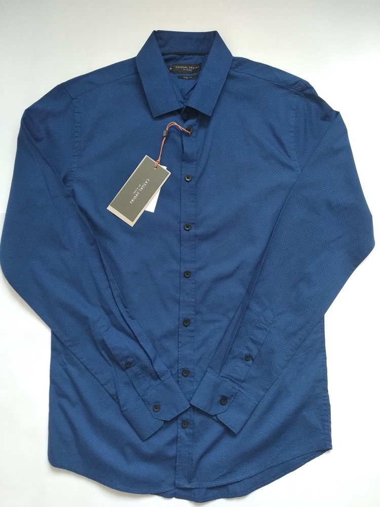 Стильная мужская рубашка размер м фото №1